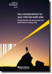 EY - Key considerations for your internal audit plan