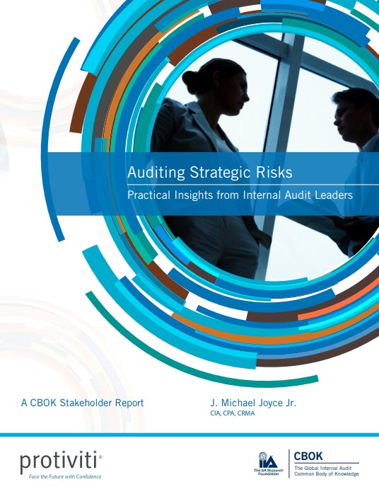CBOK Stakeholder Report: Auditing Strategic Risks